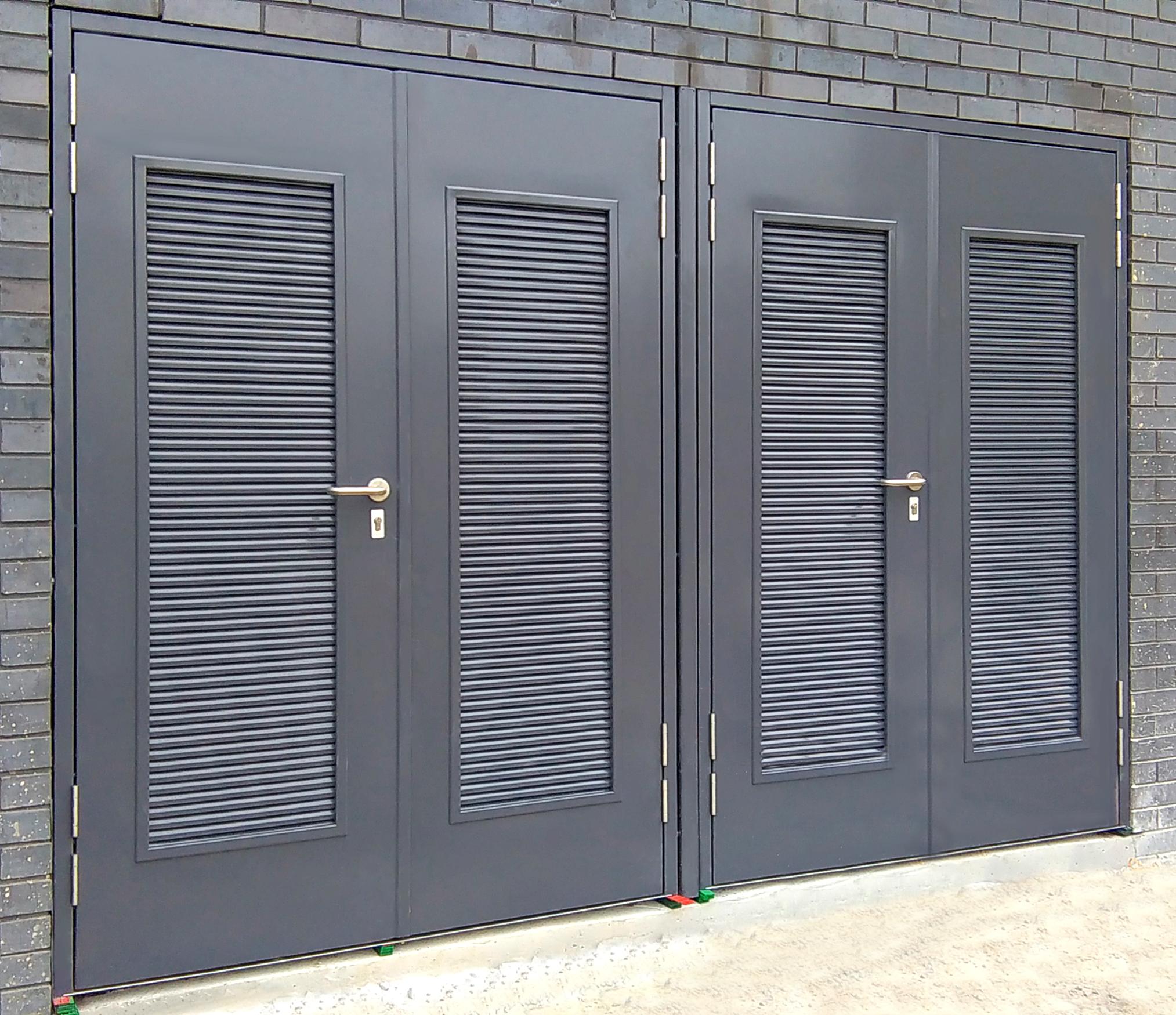 Louvred Plant Room Doors