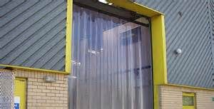 PVC Strip Curtains Internal External Industrial Commercial